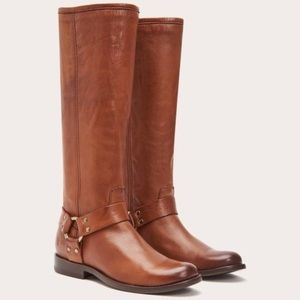 🆕 Frye Phillip Harness Tall Knee High Boot size 7